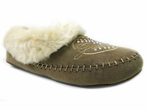 G By Guess Women's Shoes, Kimberlee Slipper Shoes Natural Multi Size 5