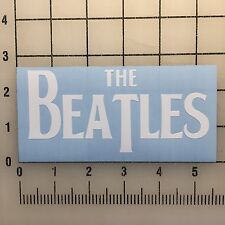 "The Beatles 5"" White Vinyl Decal Sticker - BOGO"