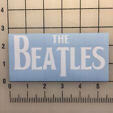 """The Beatles 5"""" White Vinyl Decal Sticker - BOGO"""