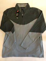 Under Armour New 1/4 Zip Golf Shirt/Jacket Long Sleeve Men's Size Large 9171