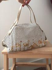 Vintage Christian Dior Paris Handbag Collectors Item Pyramids Camels Chain Mail