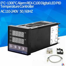 Rex C100 Digital Alarm Pid Temperature Controller Regulator Thermocouple 40a