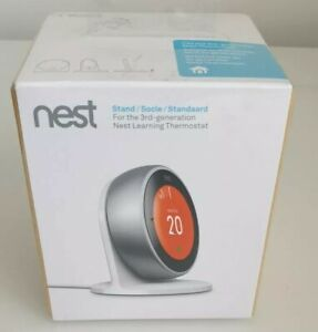 Nest  3rd Generation Thermostat Stand   GENUINE. BOXED  NEW FACTORY SEALED .