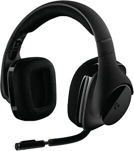 Logitech G533 Wireless 7.1 Surround Sound Gaming Headset - Black