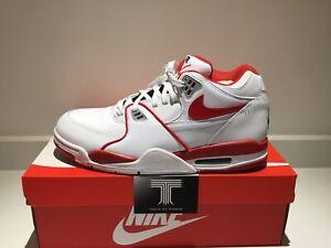 "Nike Air Flight 89 LE ""University Red"" ~ 819665 100 ~ Uk Size 11 ~ Euro 46"