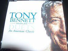 Tony Bennett Duets Rare Promo CD EP Bono (U2) KD Lang Michael Buble – Like New