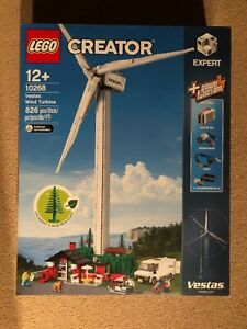 Lego® Creator Expert 10268 Vestas Wind Turbine Brand New And Sealed Unopened