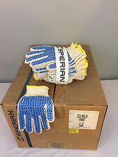 [12 pairs] NEW Honeywell Sperian Gloves, rubber dotted, CB18ALR Women's