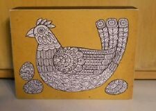 Color Box Wood Sign Mother Hen