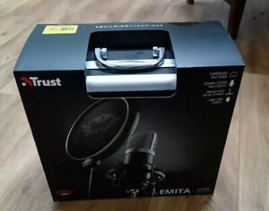 Trust GXT 252 Emita USB Cardioid Streaming Microphone - Excellent Condition