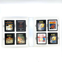 Lot of 8 Vintage Retro Atari 2600 Game Cartridges Pac-Man Berserk Breakout