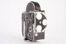 Bolex H16 16mm Film Motion Picture Cine Camera with External Frame Counter V13