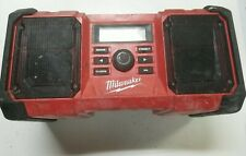 Milwaukee Jobsite Radio 2890-20 for parts only