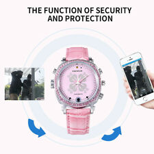 Mini Wifi Smart Wrist Watch Hidden Spy Camera Recorder Video Night Vision Women