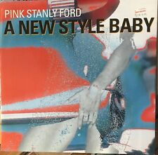 """PINK STANLY FORD A New Style Baby 12"""" Single VG+ Vinyl 1992 Germany Techno House"""