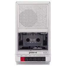 Groove Retro Portable Cassette Player & Recorder Shoebox Tape Player GVPS550SR