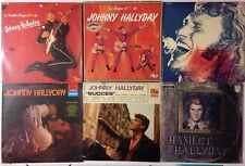 LOT DISQUES 33T LP SPECIAL JOHNNY HALLYDAY