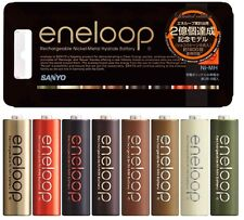 New SANYO Discontinued eneloop tones Chocolate AA x 8 pack HR-3UTGB-8C Japan
