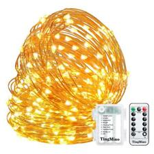 LED String Lights Decorative Lights 32.8 Feet 100 LEDs with Control Waterproof B
