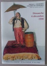 CATALOGUE VENTE CHARTRES ** AUTOMATES / BOÎTES À MUSIQUE ** DÉC. 1998