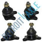 NEW 4pc Complete Front Suspension Lower and Upper Ball Joint Kit for Toyota
