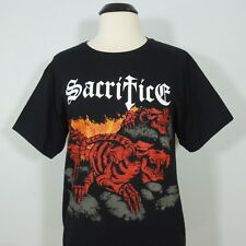 SACRIFICE Torment in Fire T-Shirt Black size Youth (NEW)