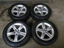 4 Alufelgen Audi A4 8K0071496 7x16 ET46 Winterreifen Pirelli 225 55 R16 _HKW18
