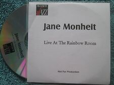 Jane Monheit ‎– Live At The Rainbow Room SONY Jazz CDr Promo UK CD Album