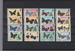 Belize, 1974 Butterflies 330-45, (28063)