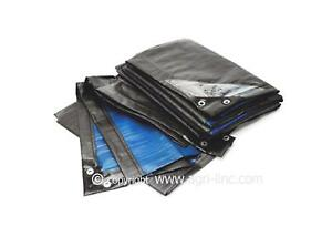 Heavy Duty Tarpaulin - 150gsm Thick, Large Tarpaulin - from 6 sq.m up to 150 sq.