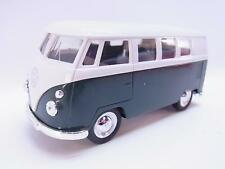 27598 | Welly VW T1 Bus 1963 grün Modellauto mit Antrieb 1:40 Neu