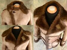 ✰ COWBOY CLASSIC! MARLBORO MAN SHEEPSKIN Shearling FUR COAT JACKET 42 WARM!