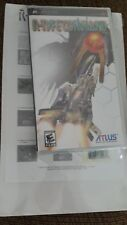 R-Type Command (Sony PSP, 2008) New, Sealed - Limited Edition
