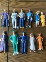 Lakeshore Community Block Play Lot of 11 Figurines