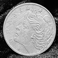 BRAZIL 10 CENTAVOS 1967 - COPPER/NICKEL COIN in GOOD Cond.