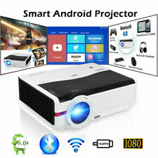 CAIWEI Android LED Projektor HD 1080P Heimkino Beamer WIFI Multimedia HDMI LCD