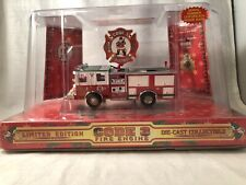 Code 3 Collectibles 1999 Christmas Pumper Luverne Pumper - RARE 1:64 1 of 5000