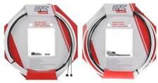 Clarks CNC ZERO-G Lightweight MTB + Road Bike GEAR & BRAKE Cable Kit - WHITE