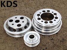 Underdrive pulley for 04-08 Mazda RX8 RX-8 1.3L Renesis 13B-MSP 3PCS