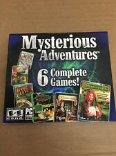 Mysterious Adventures 6 Complete Games PC New Sealed Mahjong Jewel Quest