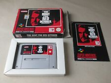 ✪ The Hunt For Red October SNES PAL CIB OVP Boxed ✪