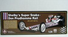 SHELBY'S SUPER SNAKE DON PRUDHOMME RAIL Die-Cast DRAGSTER 1/24 Scale - MIB