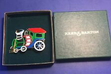 TRAIN ENGINE by Reed & Barton 1980's Discontinued New in Gift Box