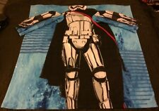 "Star Wars Captain Phasma Stormtrooper Kids Snuggie Blanket W/Sleeves 48"" x 48"""