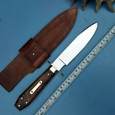 "Ursa's Custom Hand Made 5160 Spring Steel ""Drifter"" Coffin Handle Bowie UI-65AA"