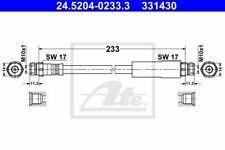 ATE Bremsschlauch Hinten 24.5204-0233.3 für AUDI - SEAT - SKODA - VW