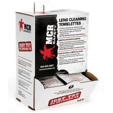 MCR Safety Lens Cleaning Wipes Dispenser 100 Pack Anti-Fog #LCT NEW! LOW PRICE!