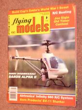 Flying Models Magazine January 1993