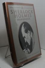 A Sherlock Holmes Handbook by Christopher Redmond - First edition
