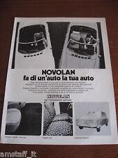*15=NOVOLAN ACCESSORI AUTO=1971=PUBBLICITA'=ADVERTISING=WERBUNG=PUBLICITE=